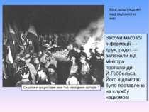 """Спалення нацистами книг """"не німецьких авторів """" Контроль нацизму над свідоміс..."""