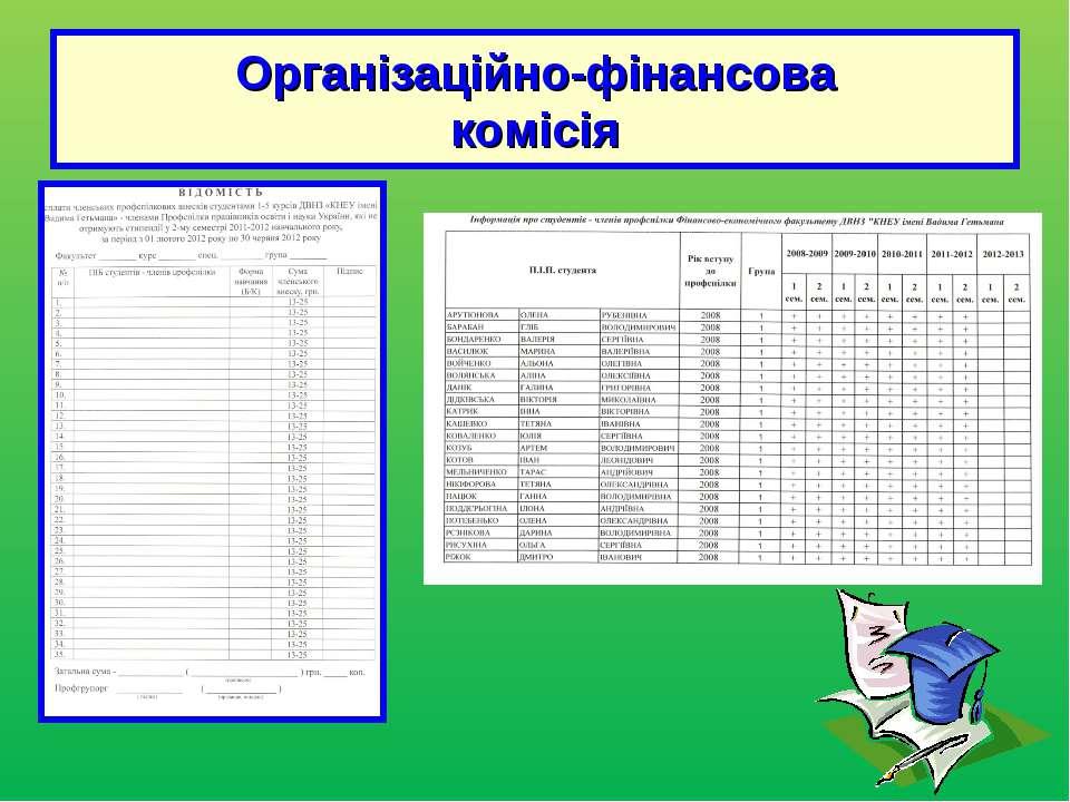 Організаційно-фінансова комісія