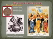 Німецький жетон з нагоди утворення потрійного союзу Російський плакат 1914 р....