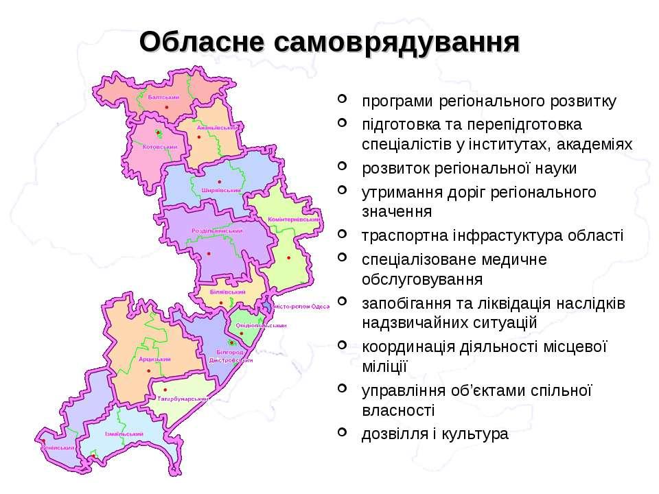 Обласне самоврядування програми регіонального розвитку підготовка та перепідг...