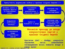 Активна участь у народних фронтах та коаліційних урядах Ініціювання широких д...