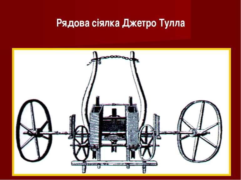 Рядова сіялка Джетро Тулла