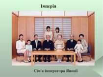 Імперія Сім'я імператора Японії