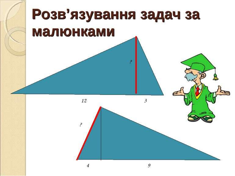 Розв'язування задач за малюнками