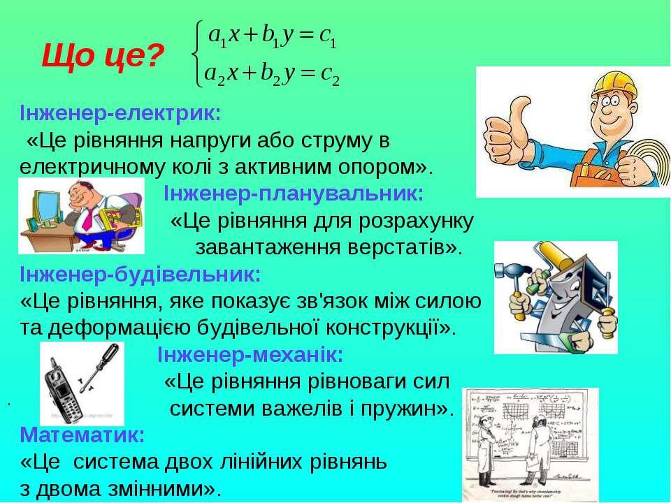 Що це? Інженер-електрик: «Це рівняння напруги або струму в електричному колі ...