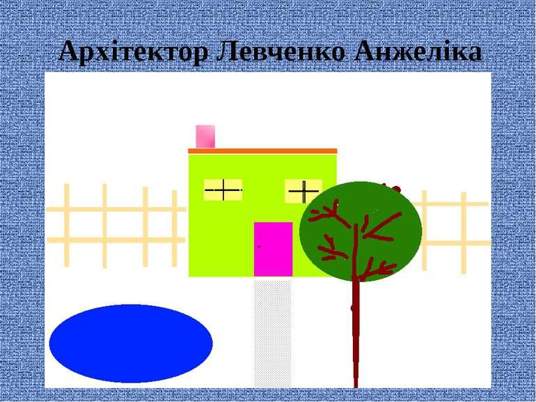 Архітектор Левченко Анжеліка