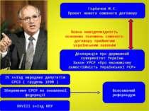 Горбачов М.С. Проект нового союзного договору Декларація про державний сувере...