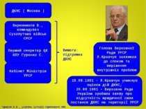 ДКНС ( Москва ) Варенников В., командувач Сухопутних військ СРСР Голова Верхо...