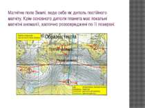 Магнітне поле Землі, веде себе як диполь постійного магніту. Крім основного д...