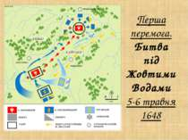 Перша перемога. Битва під Жовтими Водами 5-6 травня 1648