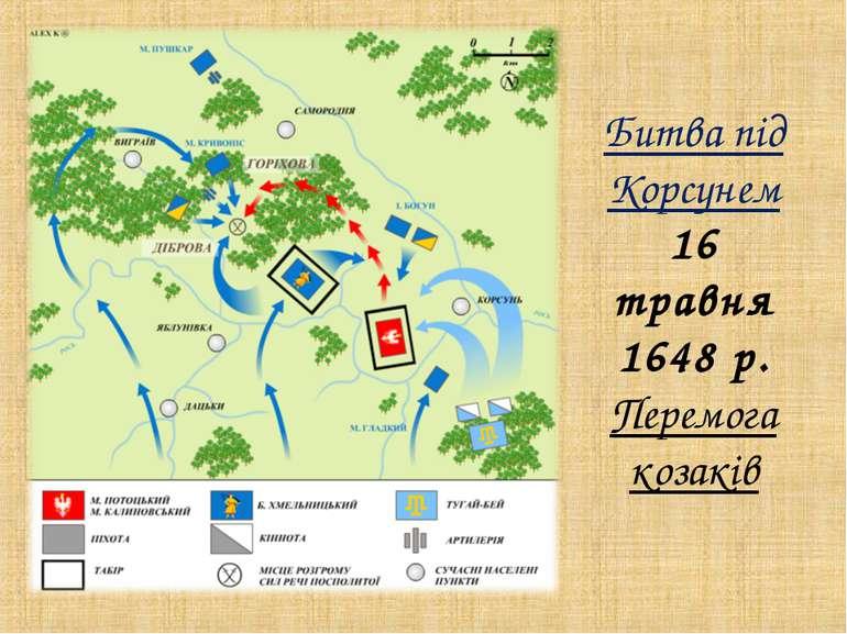 Битва під Корсунем 16 травня 1648 р. Перемога козаків