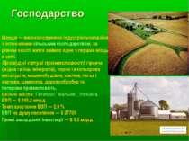 Господарство Швеція— високорозвинена індустріальна країна з інтенсивним сіль...