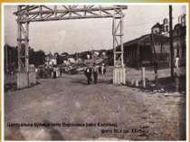 Центральна вулиця села Воронівка (нині Калініна), фото 50-х рр. ХХст.
