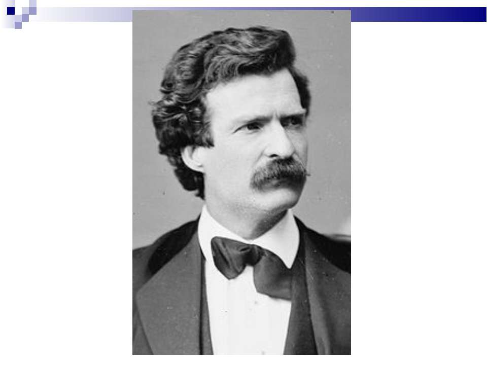 biography of mark twain
