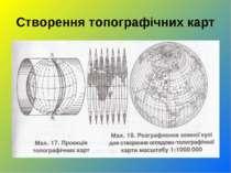 Створення топографічних карт