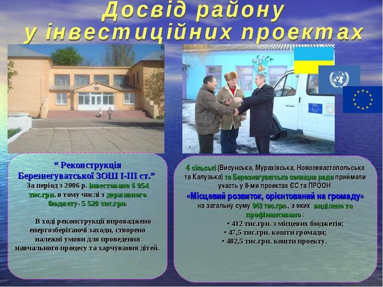 4 сільські (Висунська, Мурахівська, Новосевастопольська та Калузька) та Берез...
