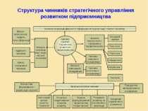 Структура чинників стратегічного управління розвитком підприємництва Чинники ...