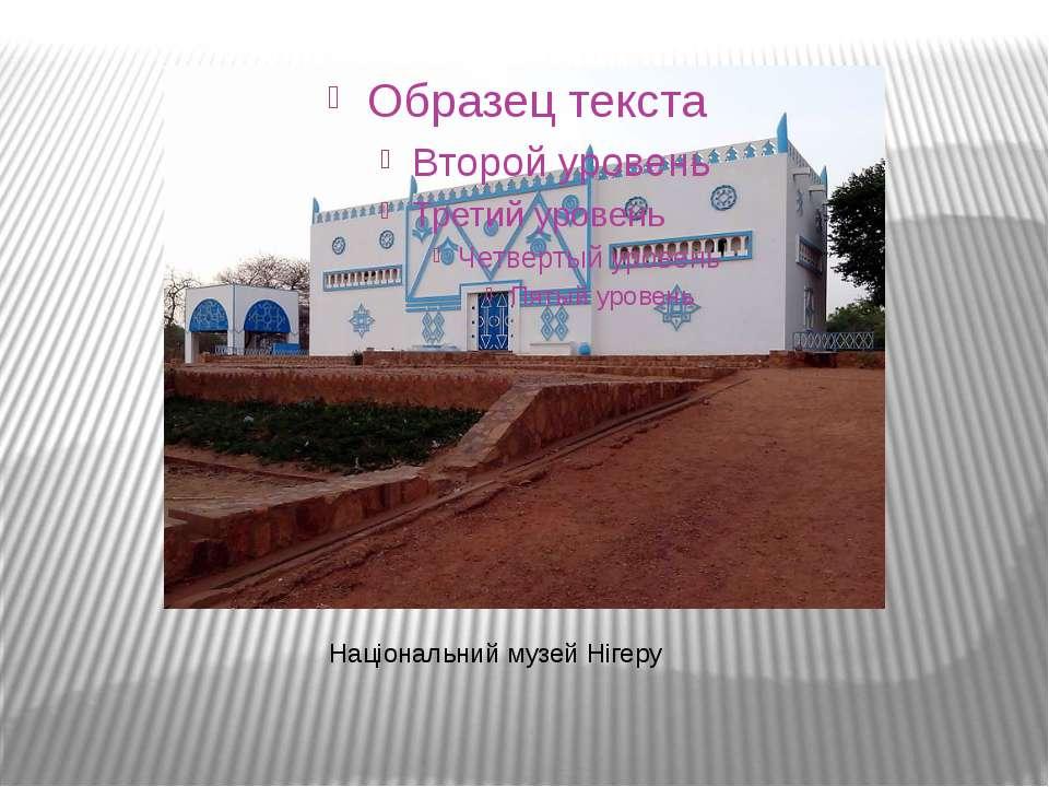 Національний музей Нігеру