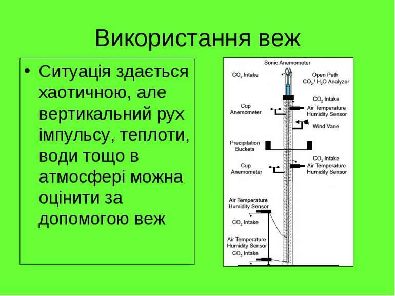 Використання веж Ситуація здається хаотичною, але вертикальний рух імпульсу, ...