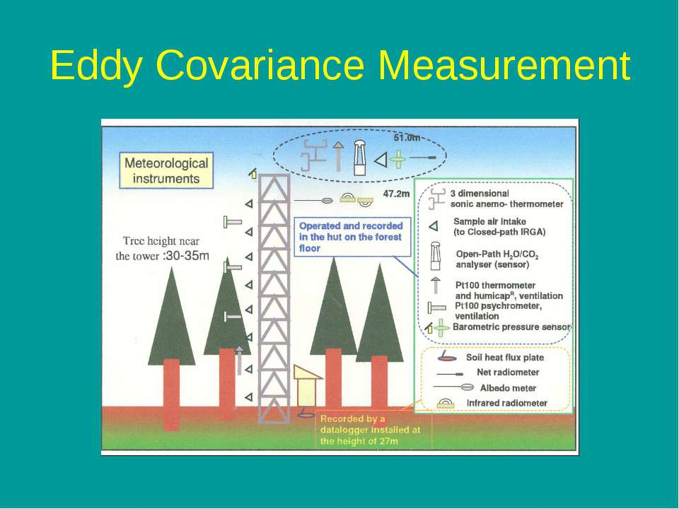 Eddy Covariance Measurement