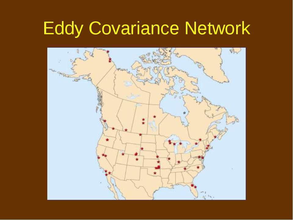 Eddy Covariance Network