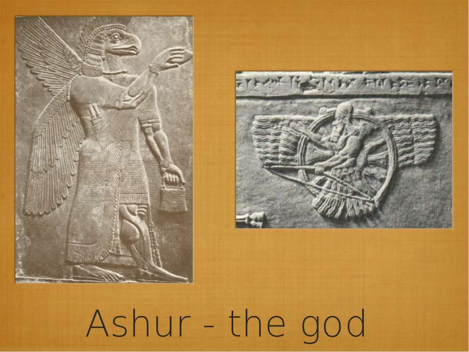 Ashur - the god