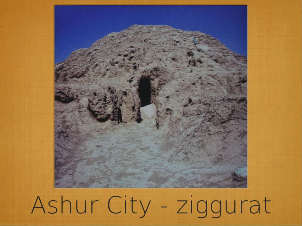 Ashur City - ziggurat