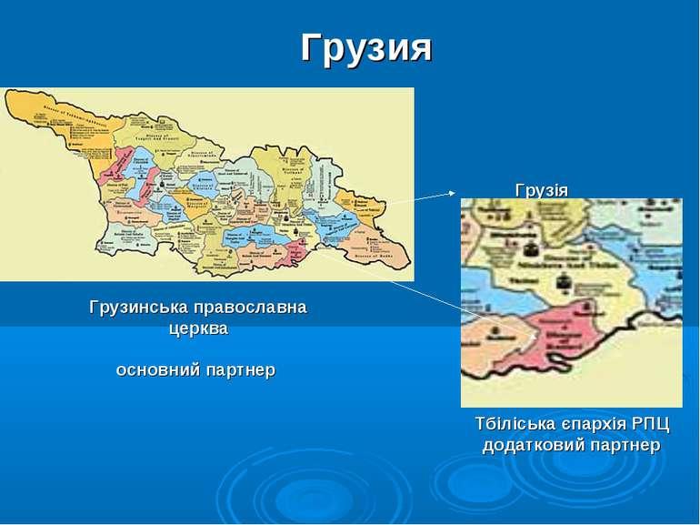 Грузія Тбіліська єпархія РПЦ додатковий партнер Грузинська православна церква...