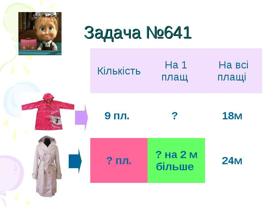 Задача №641