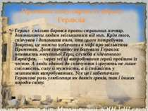 Причини популярності образу Геракла Геракл сміливо боровся проти страшних поч...