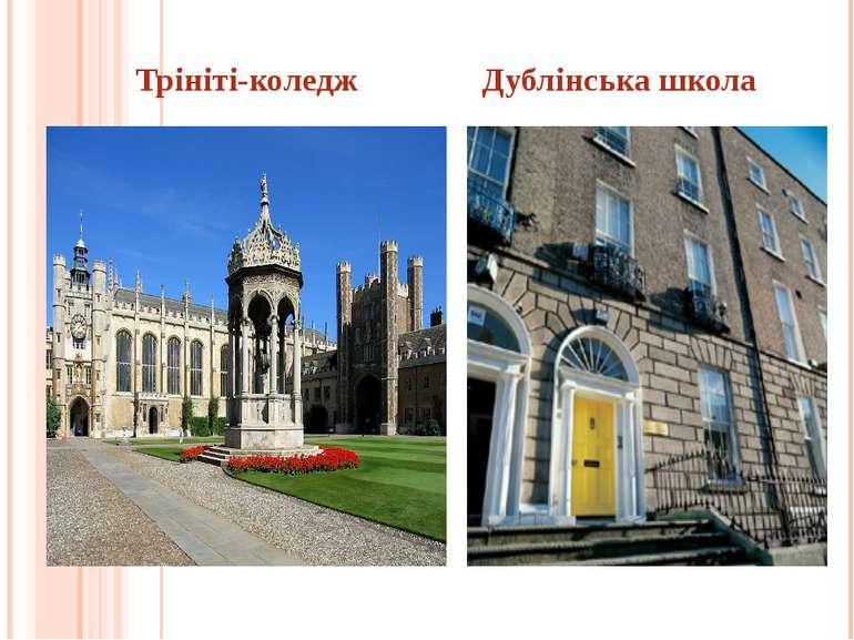 Трініті-коледж Дублінська школа