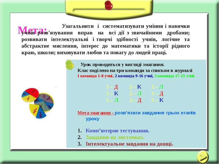 Використано матеріали з інтернету, укладчик Щербак В. О. Мета: Узагальнити і ...