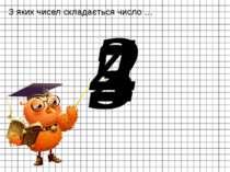 З яких чисел складається число … 2 4 5 3