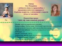 Левчак Зіта Федорівна – небагатослівна та працелюбна, з вродженим почуттям по...