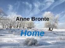 Anne Bronte Home