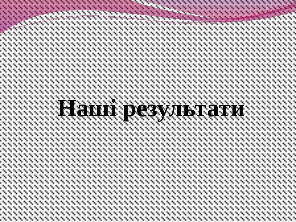Наші результати ХЗНВК №11 м. Херсон