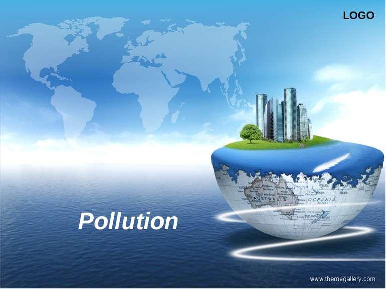 www.themegallery.com Pollution LOGO