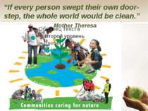 """If every person swept their own door-step, the whole world would be clean."" ..."