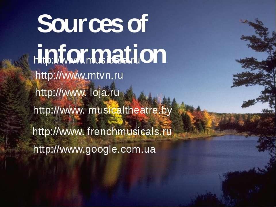 http://www.google.com.ua http://www.musicals.ru http://www.mtvn.ru http://www...
