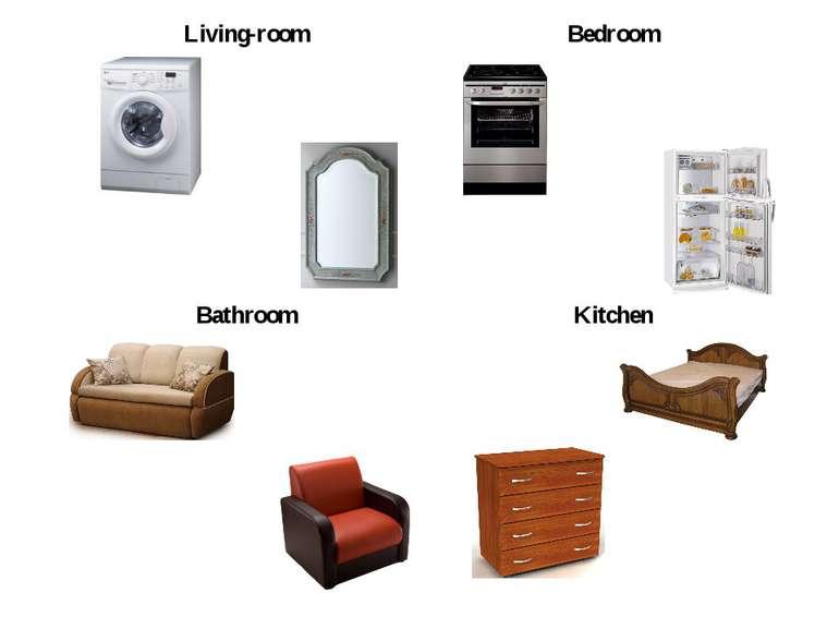 Living-room Bedroom Bathroom Kitchen