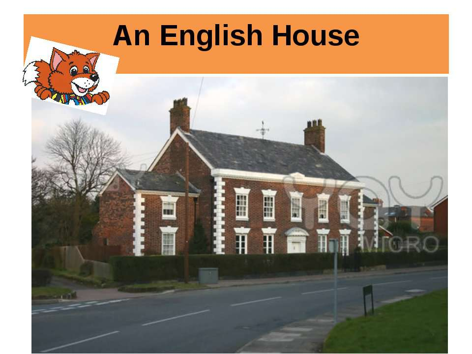 An English House
