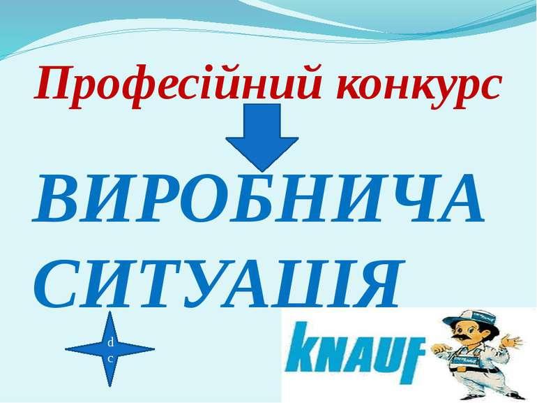 dc Професійний конкурс ВИРОБНИЧА СИТУАЦІЯ