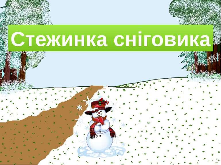 Стежинка сніговика