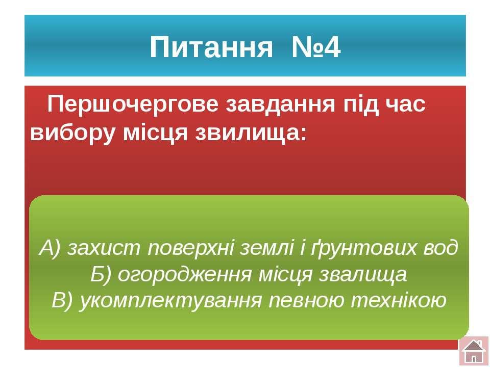 Питання №5 Поява несанкціонованих звалищ тягне за собою: В) зміну кліматичних...