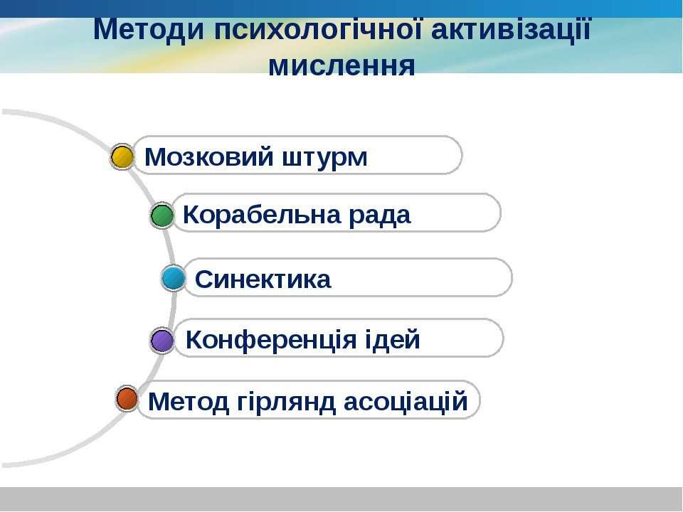 www.themegallery.com Company Logo Методи психологічної активізації мислення М...