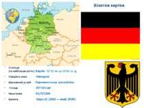 Візитна картка Столиця (та найбільше місто) Берлін 52°31′ пн.ш.13°24′ сх.д...