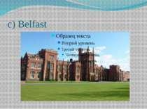 c) Belfast