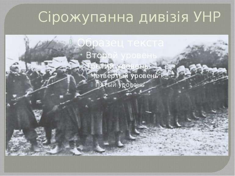 Сірожупанна дивізія УНР