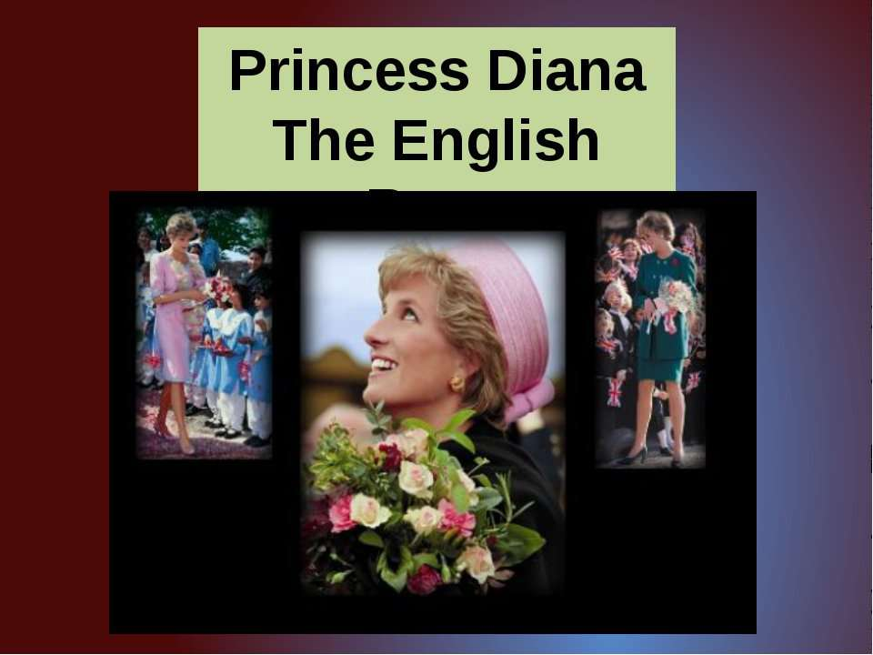 Princess Diana The English Rose