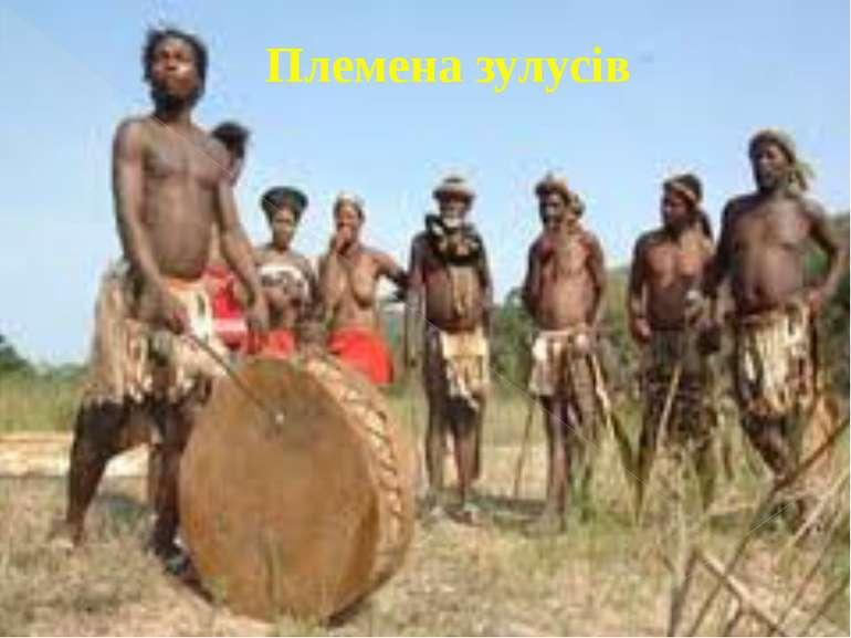Племена зулусів